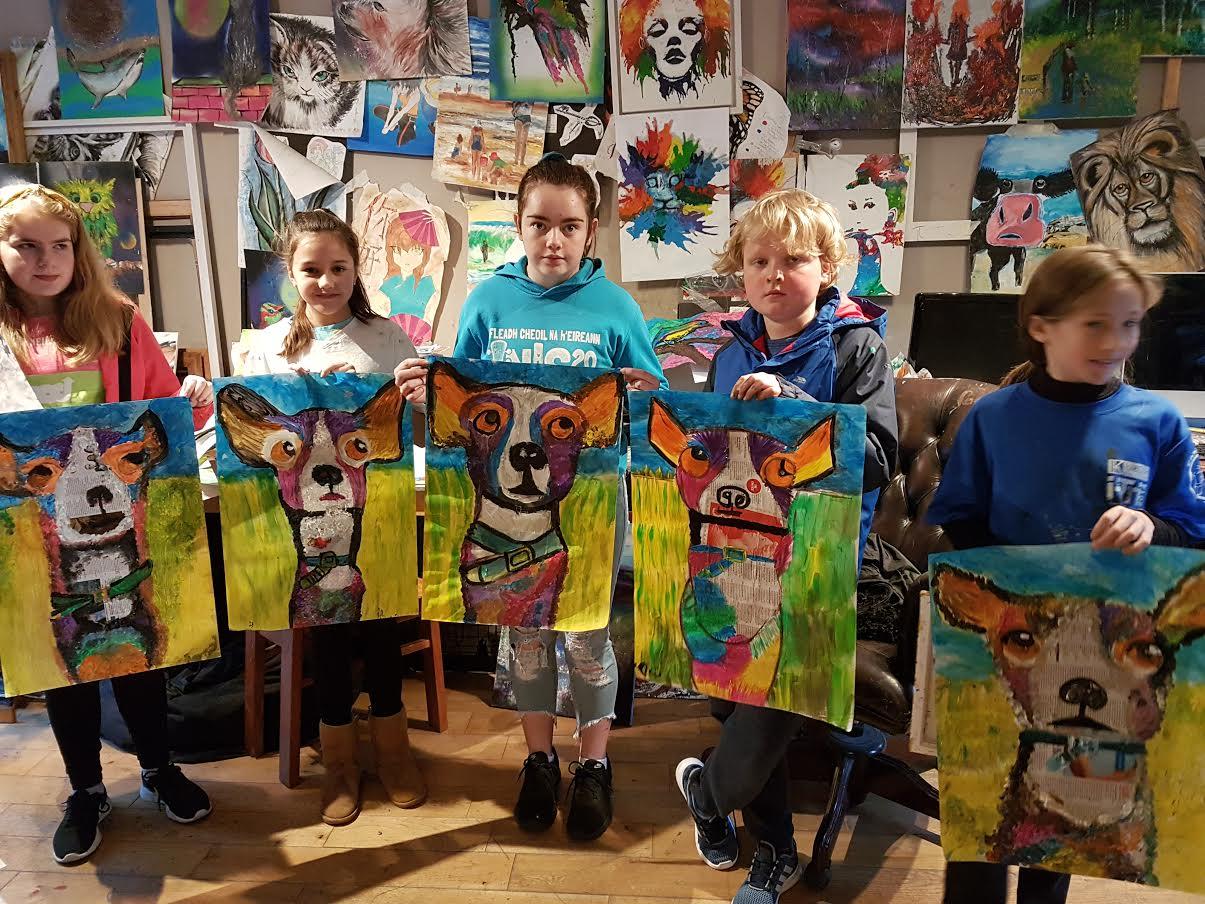 0 16 - Ennis Art School