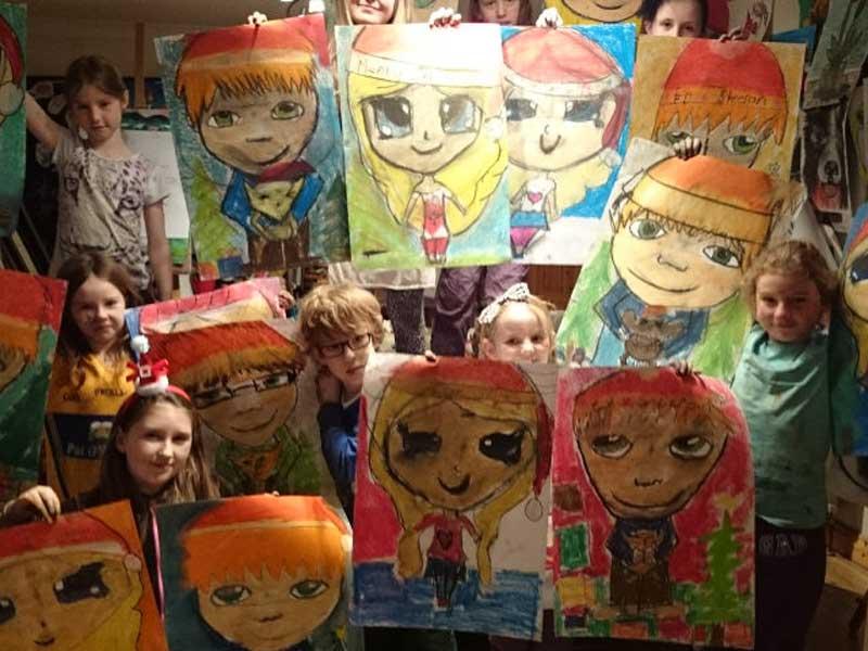 art craft camps - Ennis Art School
