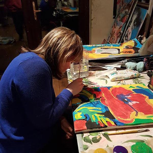art classes teenagers