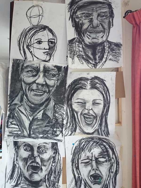 drawing - Ennis Art School