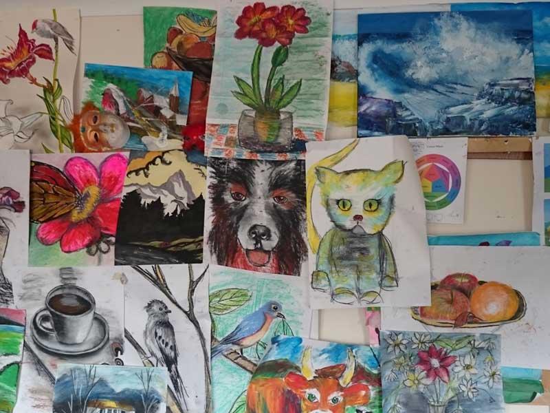 how to paint - Ennis Art School