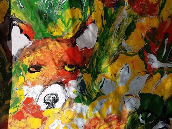 Carmel Doherty Outdoor Painting Fox