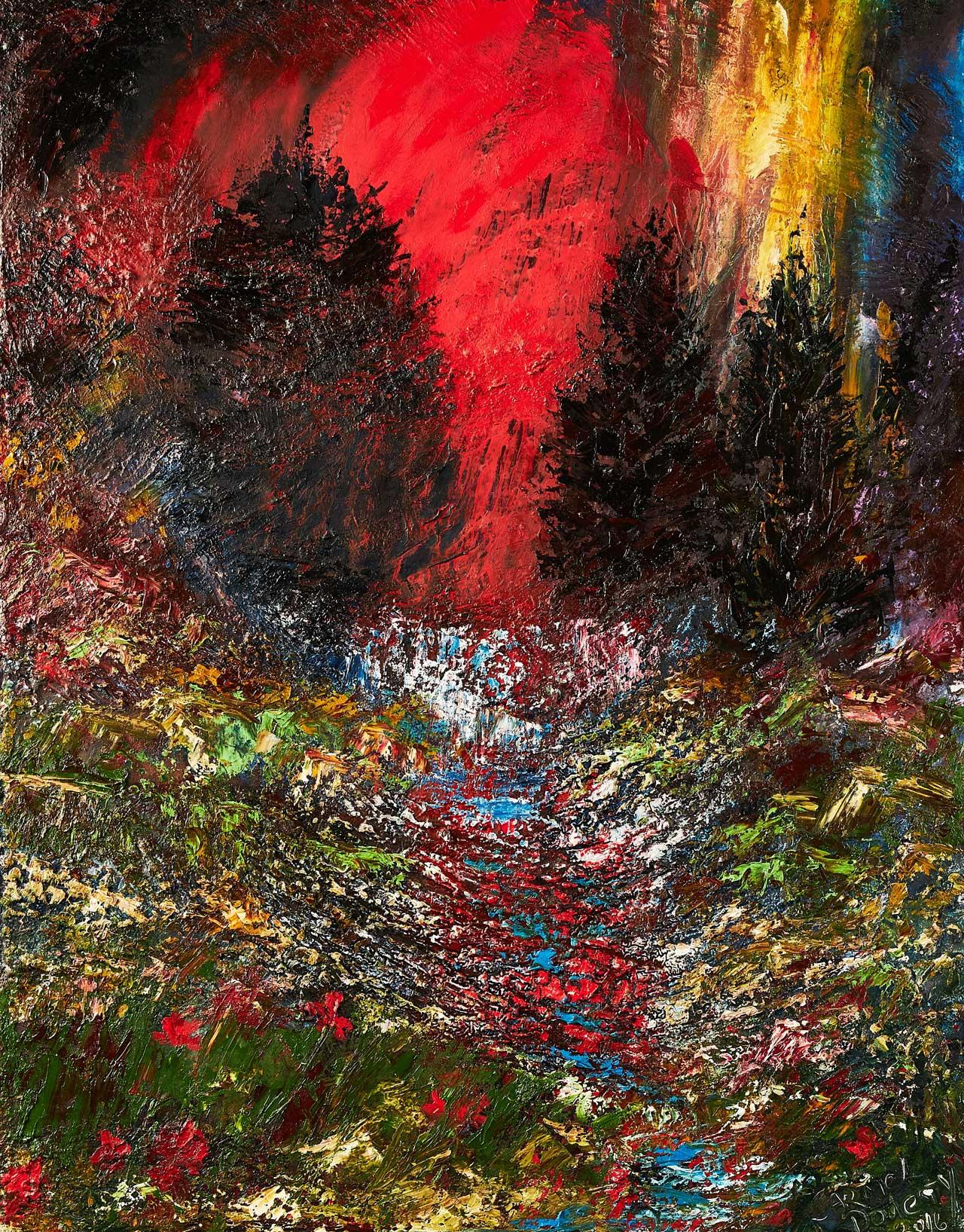 Carmel Doherty Painting Mt Brandon
