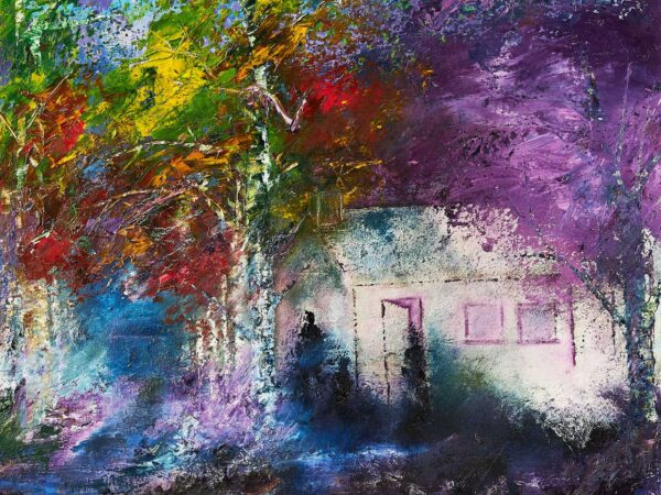 Carmel Doherty Painting The Purple Tree