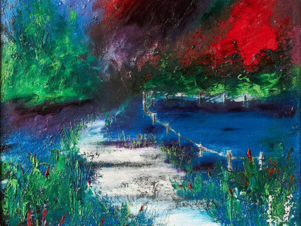 Carmel Doherty Painting The Road Home