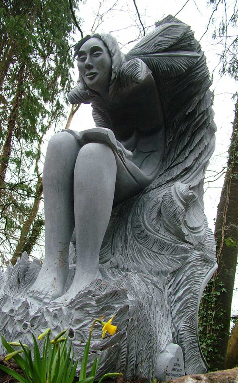 Carmel Doherty Sculpture Spirit of the Forest