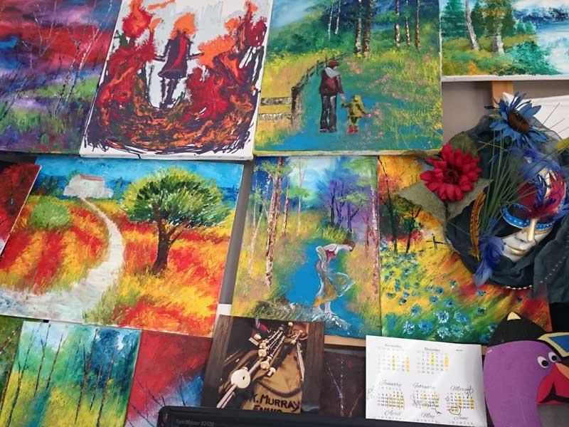 teenage art classes 4 - Ennis Art School