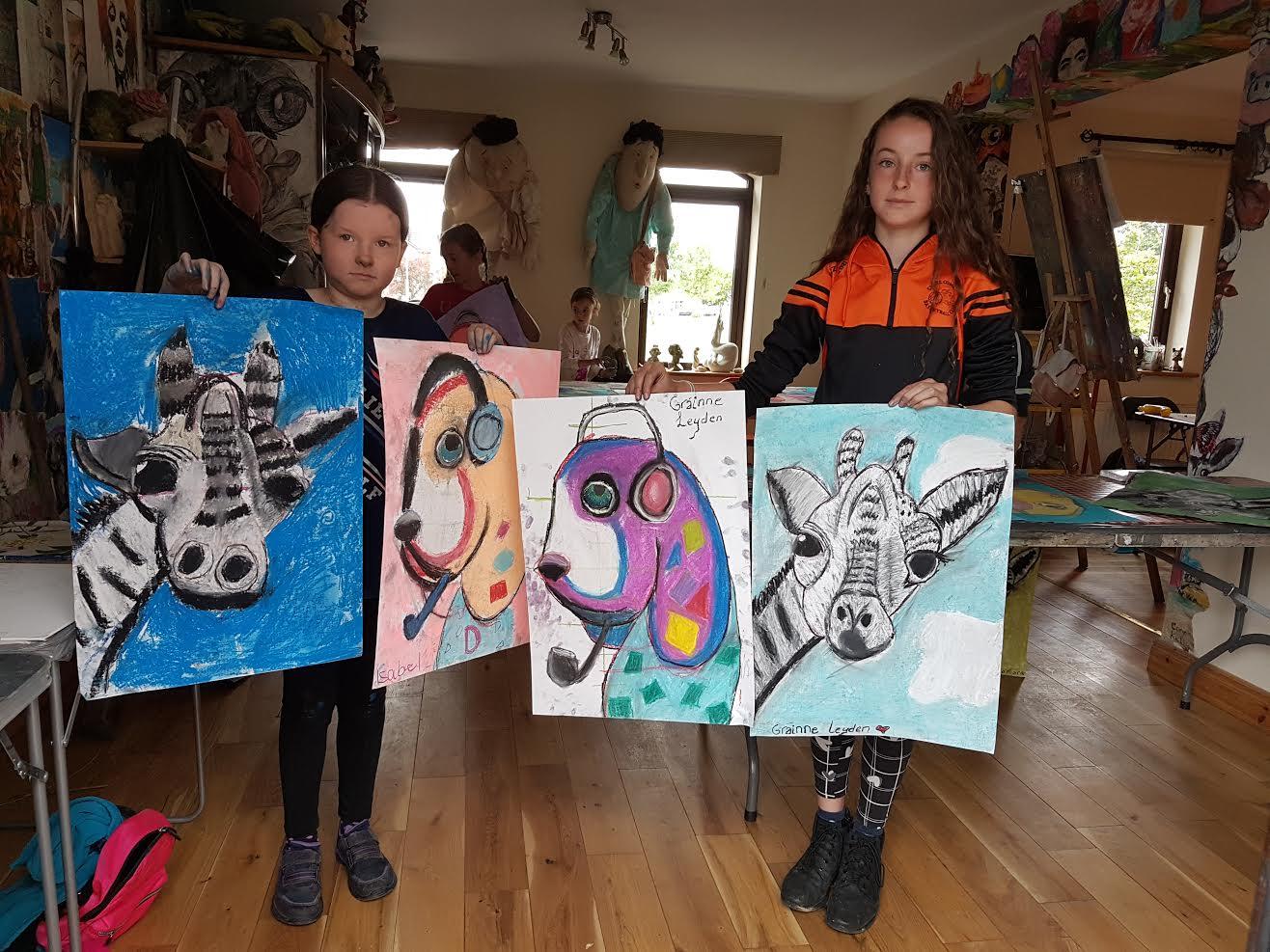 summer 2020 drawing 002 - Ennis Art School