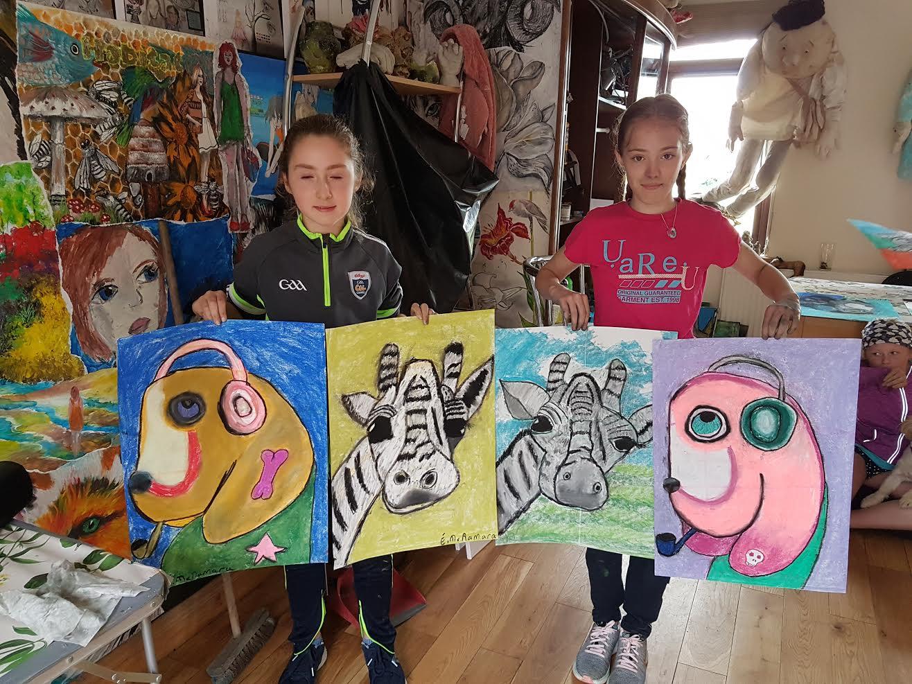 summer 2020 drawing 003 - Ennis Art School