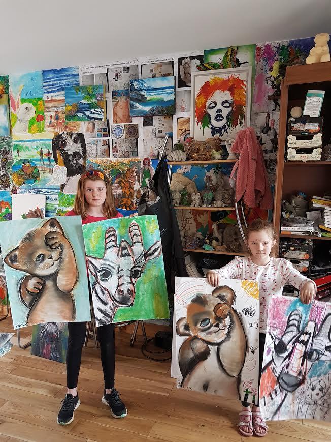 summer 2020 drawing 004 - Ennis Art School