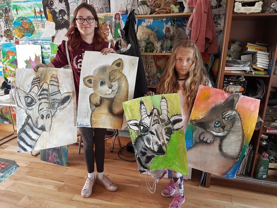 summer 2020 drawing 005 - Ennis Art School