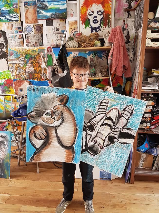 summer 2020 drawing 006 - Ennis Art School