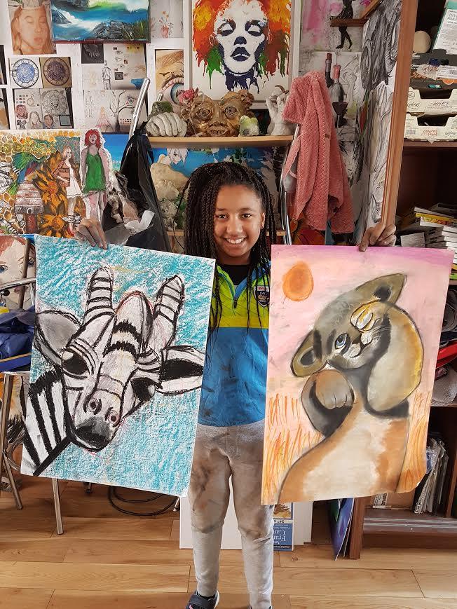 summer 2020 drawing 007 - Ennis Art School