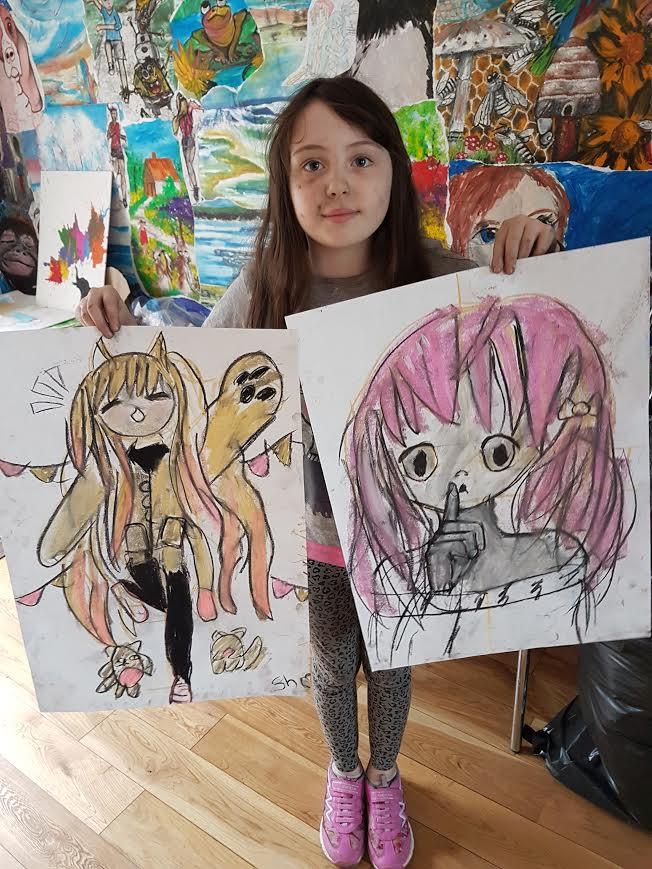 summer 2020 drawing 008 - Ennis Art School