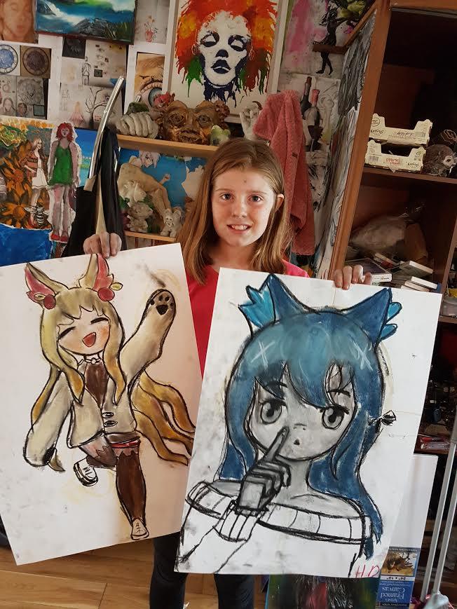 summer 2020 drawing 010 - Ennis Art School
