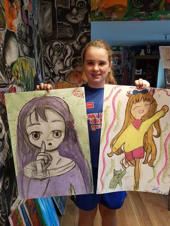 summer 2020 drawing 011 - Ennis Art School