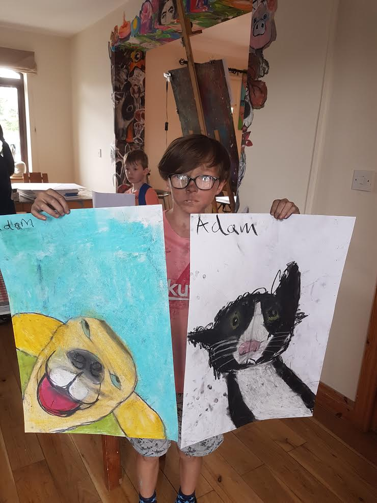summer 2020 drawing 012 - Ennis Art School