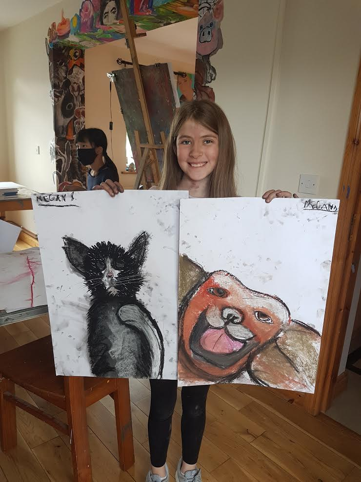 summer 2020 drawing 019 - Ennis Art School