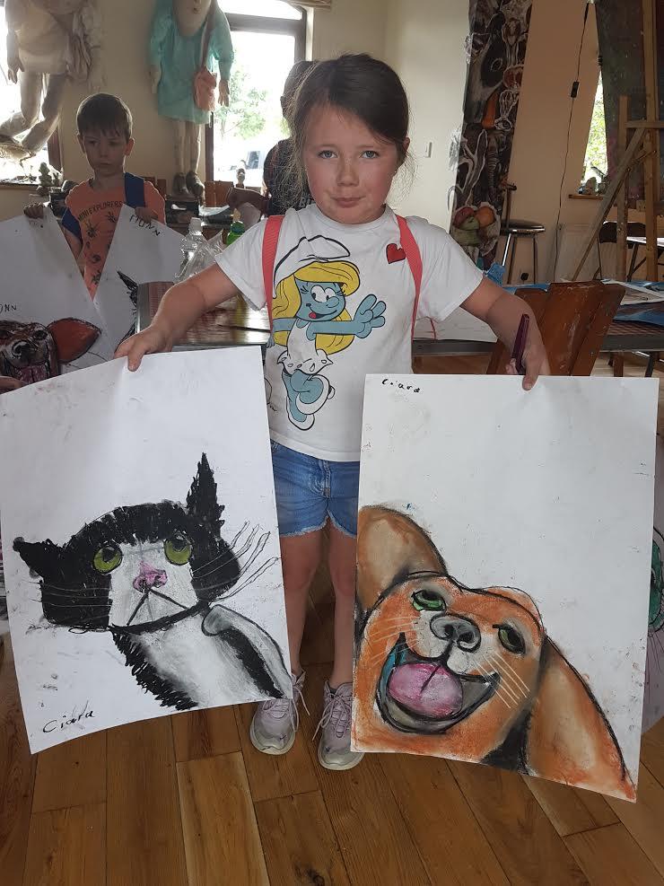 summer 2020 drawing 020 - Ennis Art School