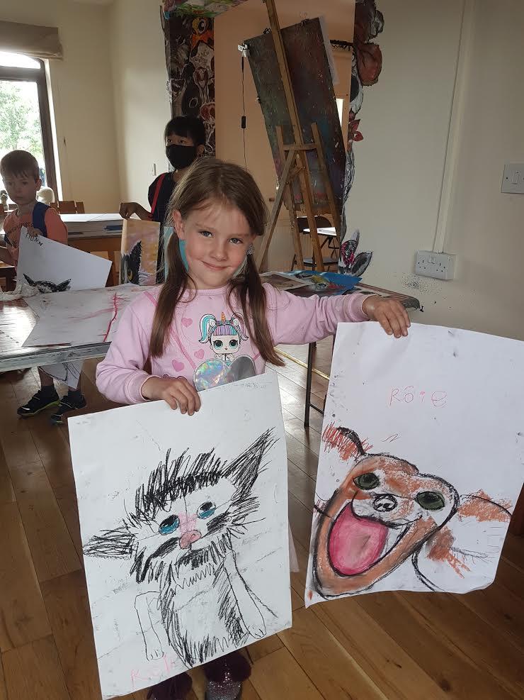 summer 2020 drawing 024 - Ennis Art School