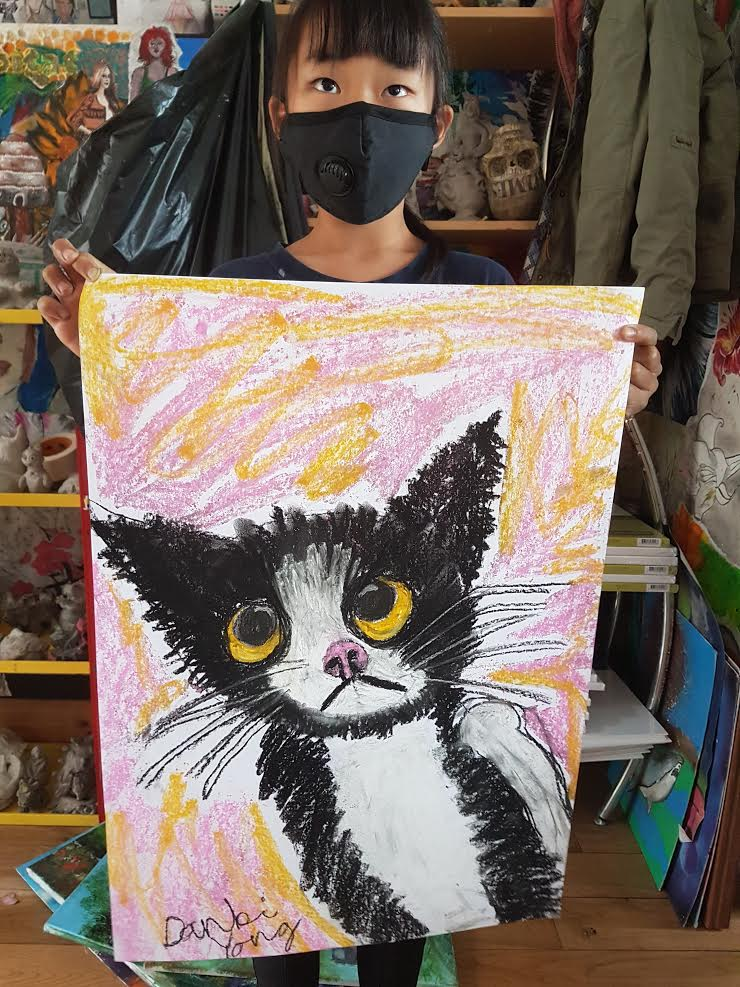 summer 2020 drawing 025 - Ennis Art School