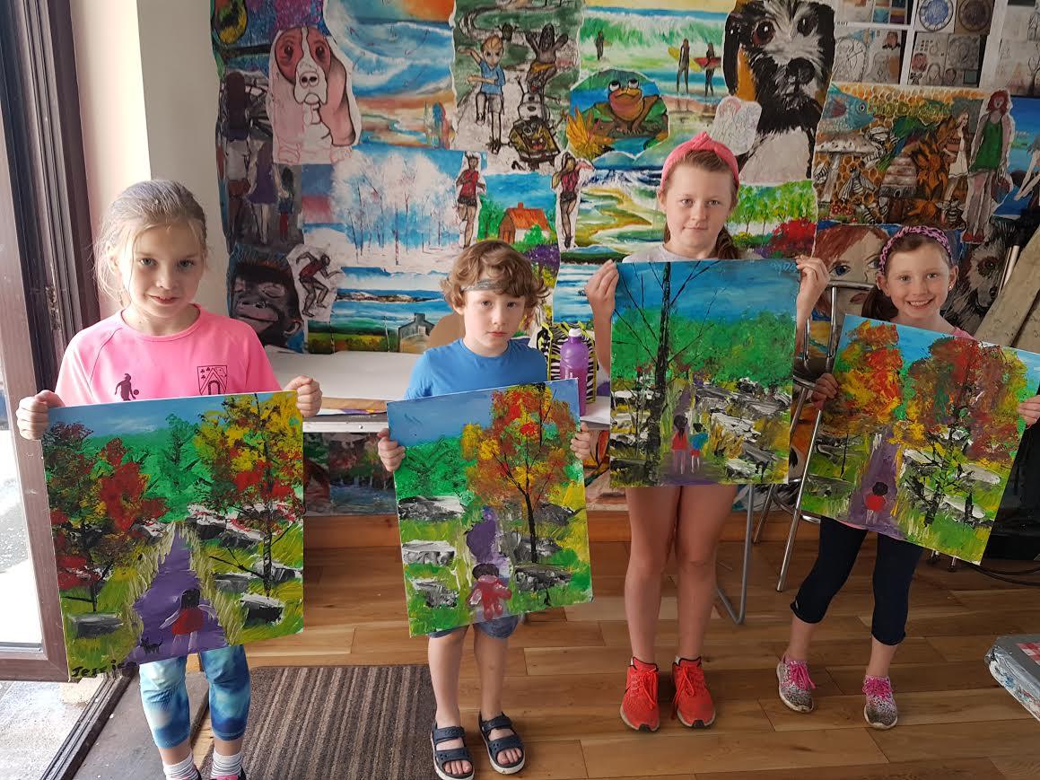 summer 2020 painting 002 - Ennis Art School