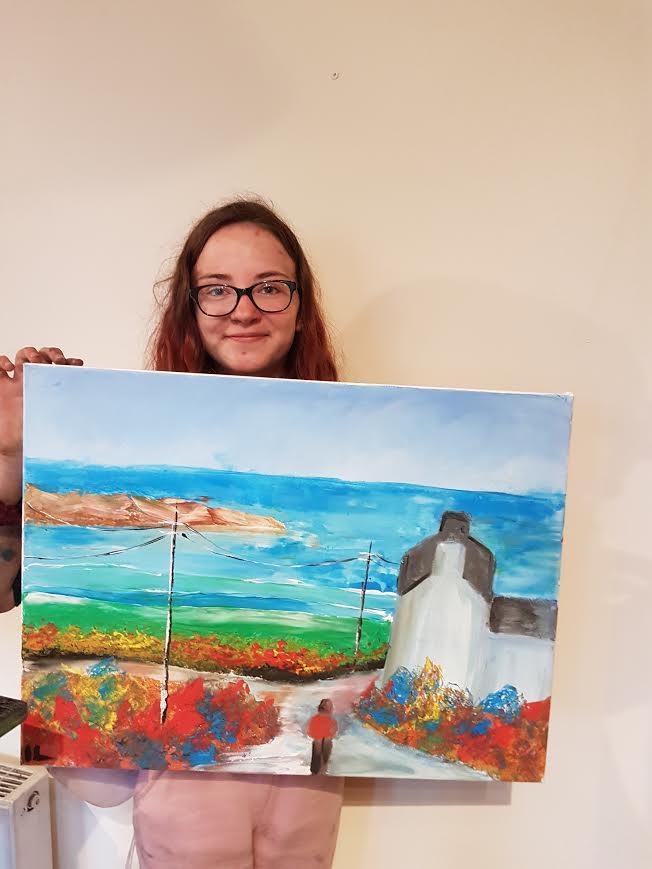 summer 2020 painting 004 - Ennis Art School