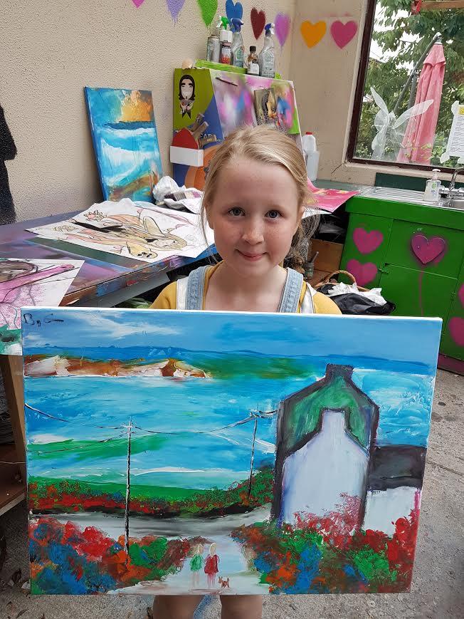summer 2020 painting 005 - Ennis Art School