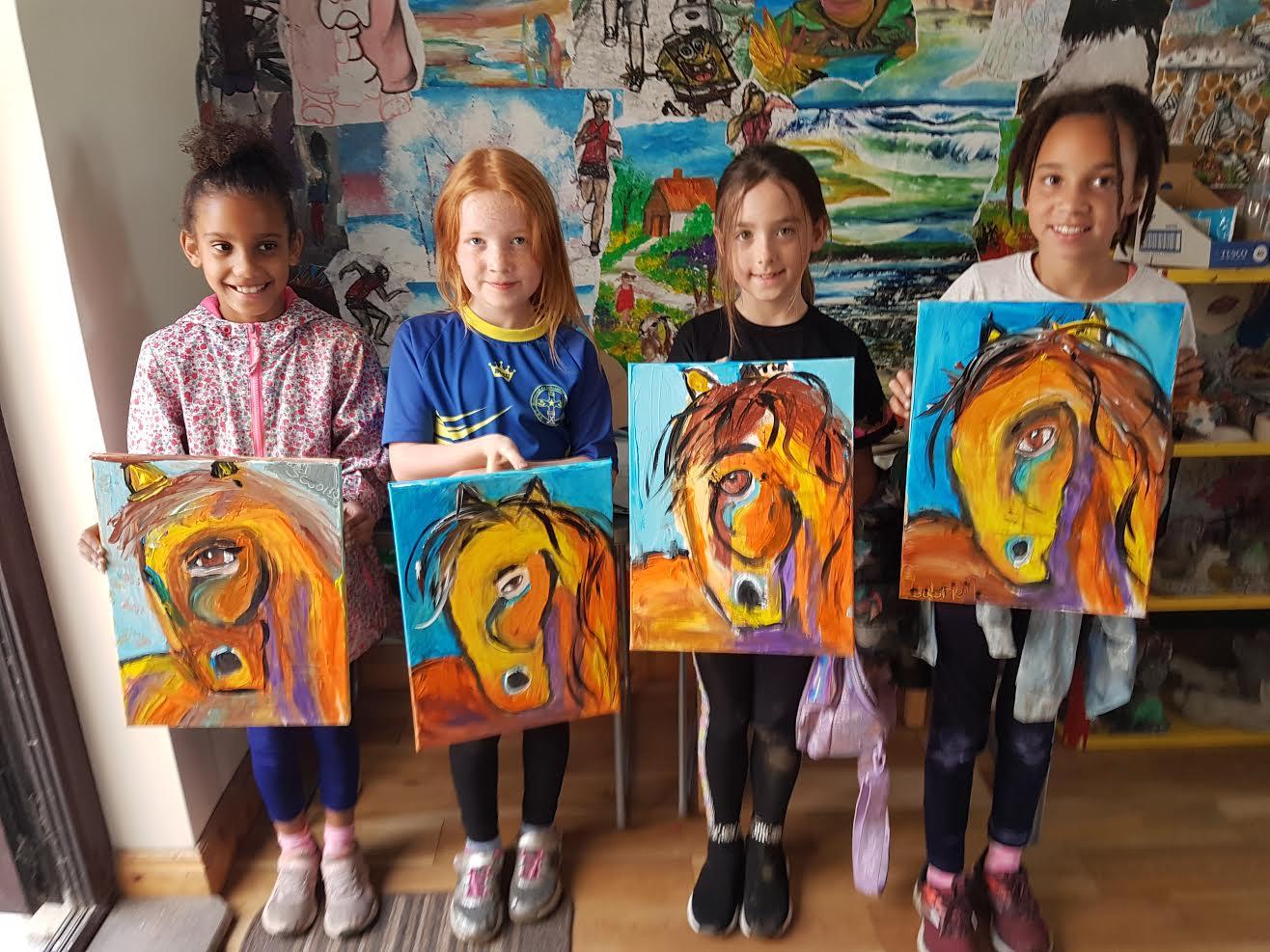 summer 2020 painting 009 - Ennis Art School