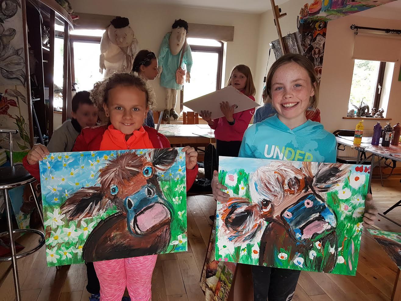 summer 2020 painting 010 - Ennis Art School
