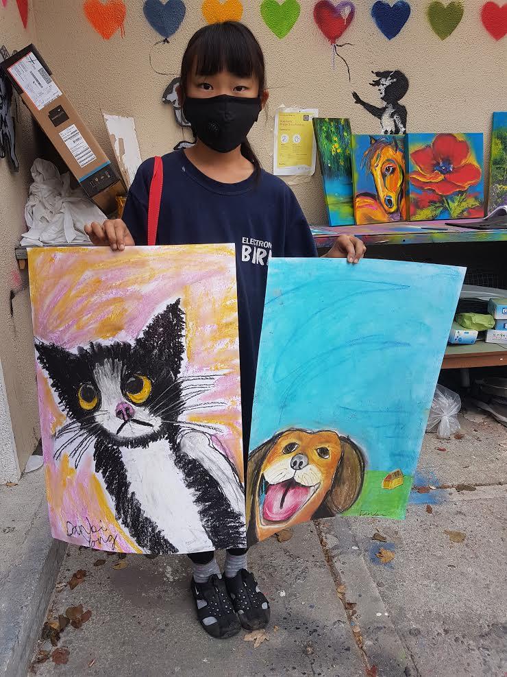 summer 2020 painting 012 - Ennis Art School