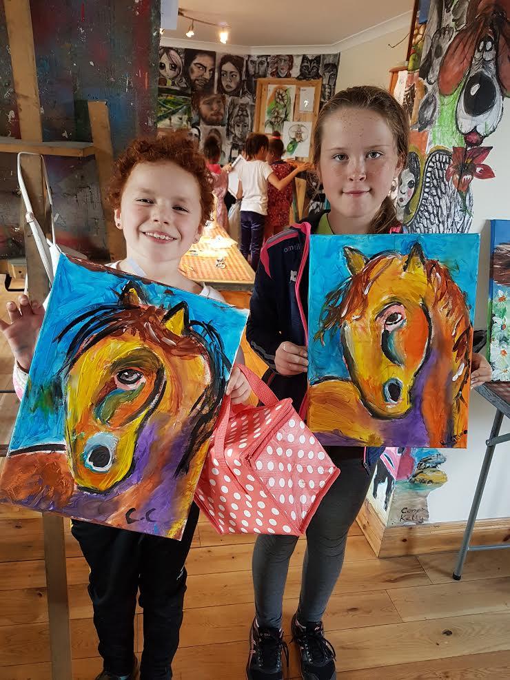summer 2020 painting 014 - Ennis Art School