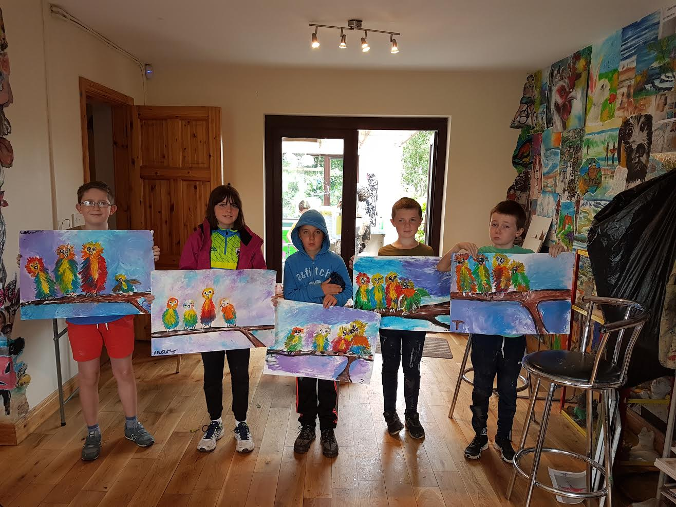 summer 2020 painting 016 - Ennis Art School