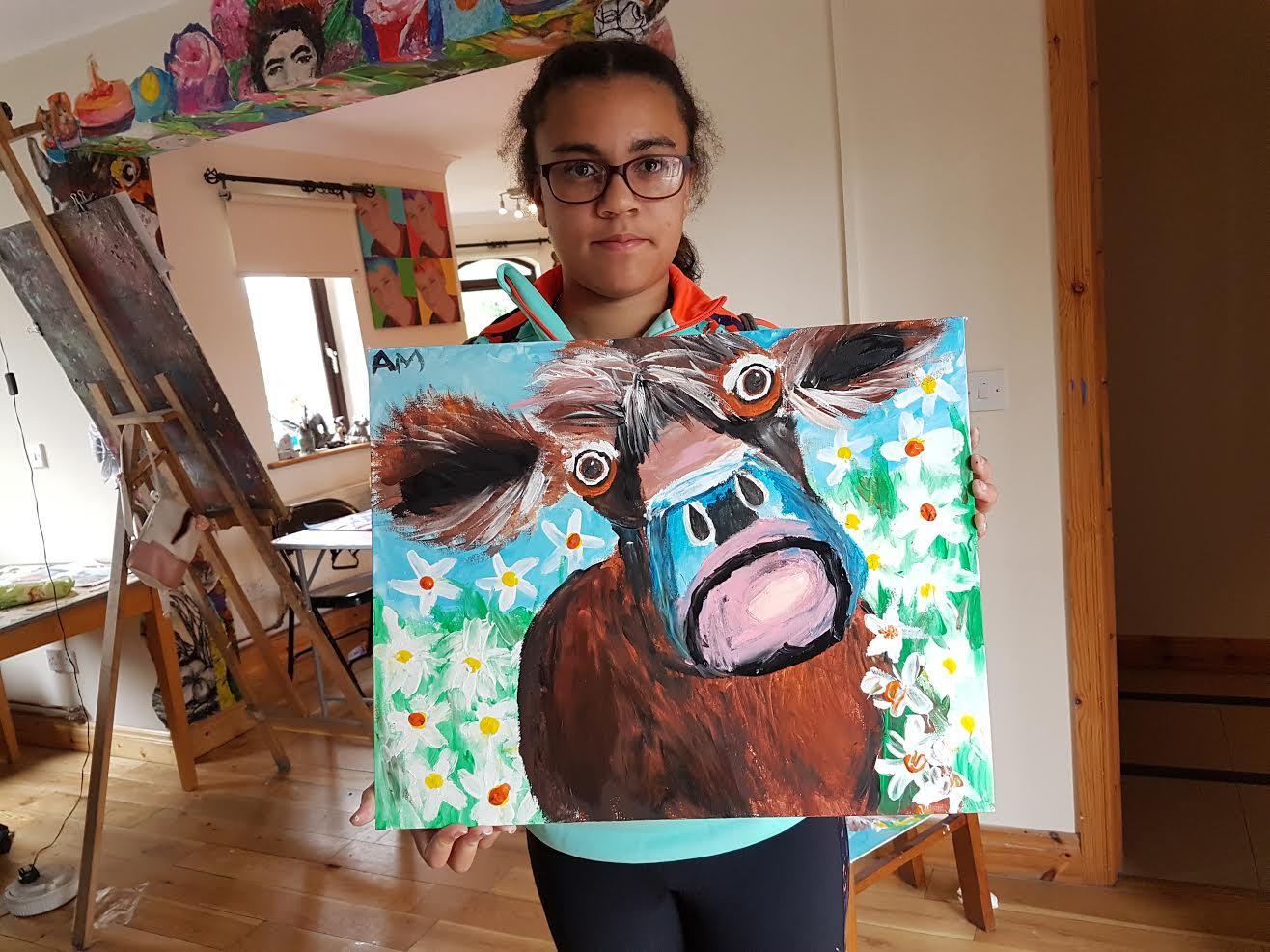 summer 2020 painting 019 - Ennis Art School