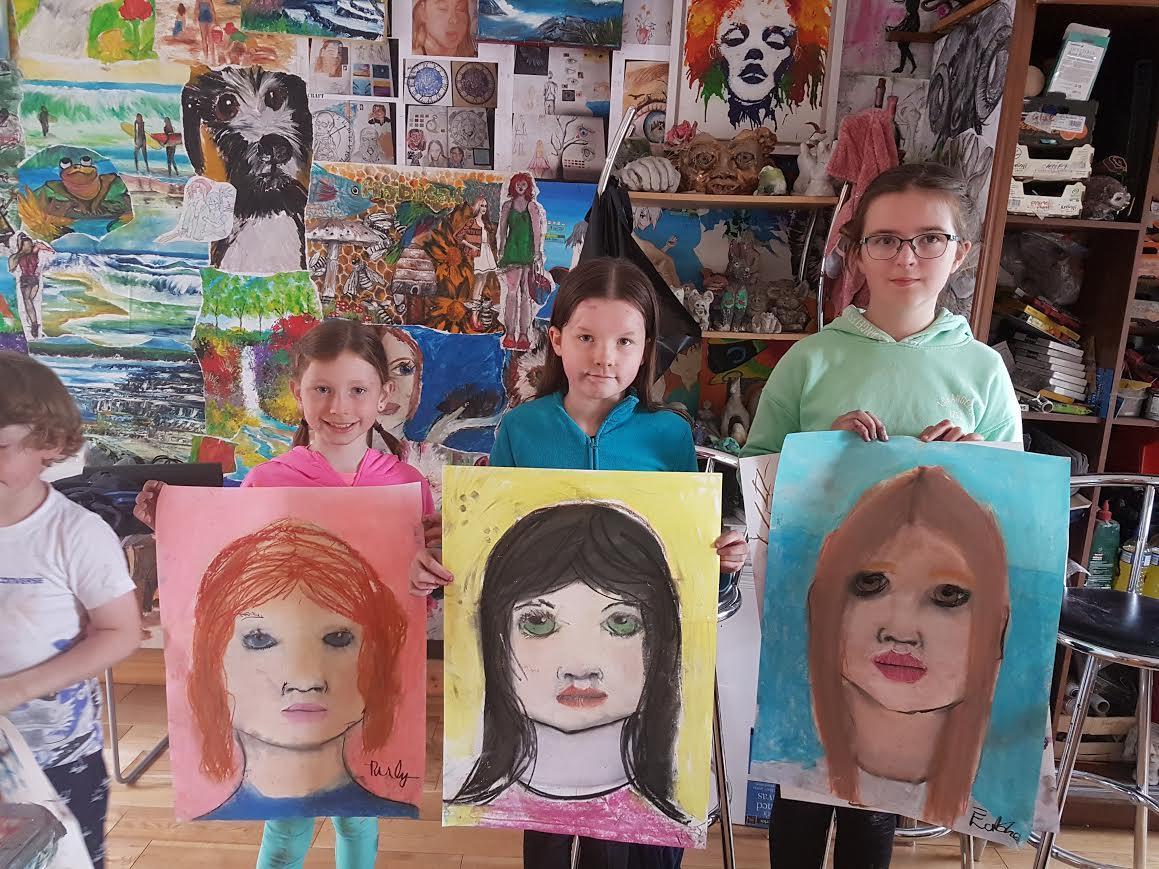 summer 2020 portraits 001 - Ennis Art School