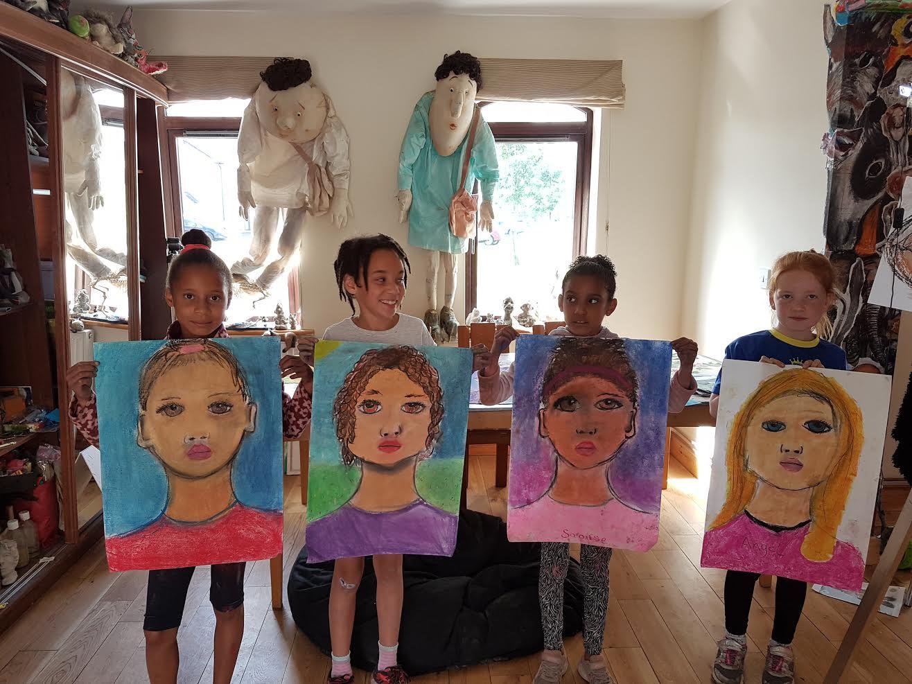 summer 2020 portraits 004 - Ennis Art School