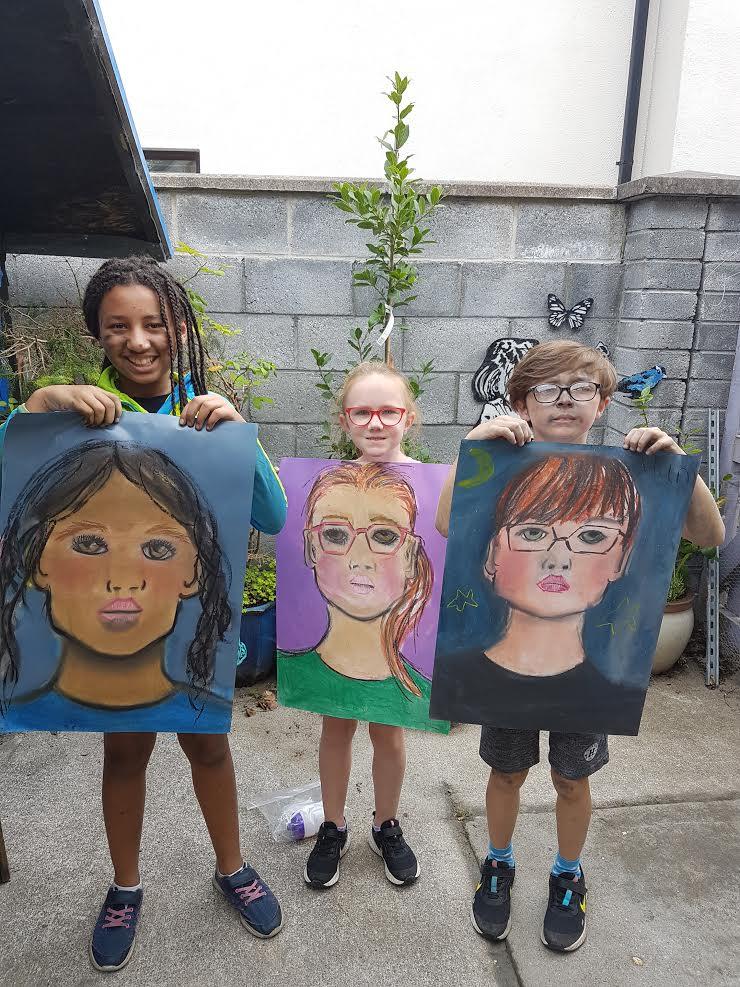 summer 2020 portraits 007 - Ennis Art School