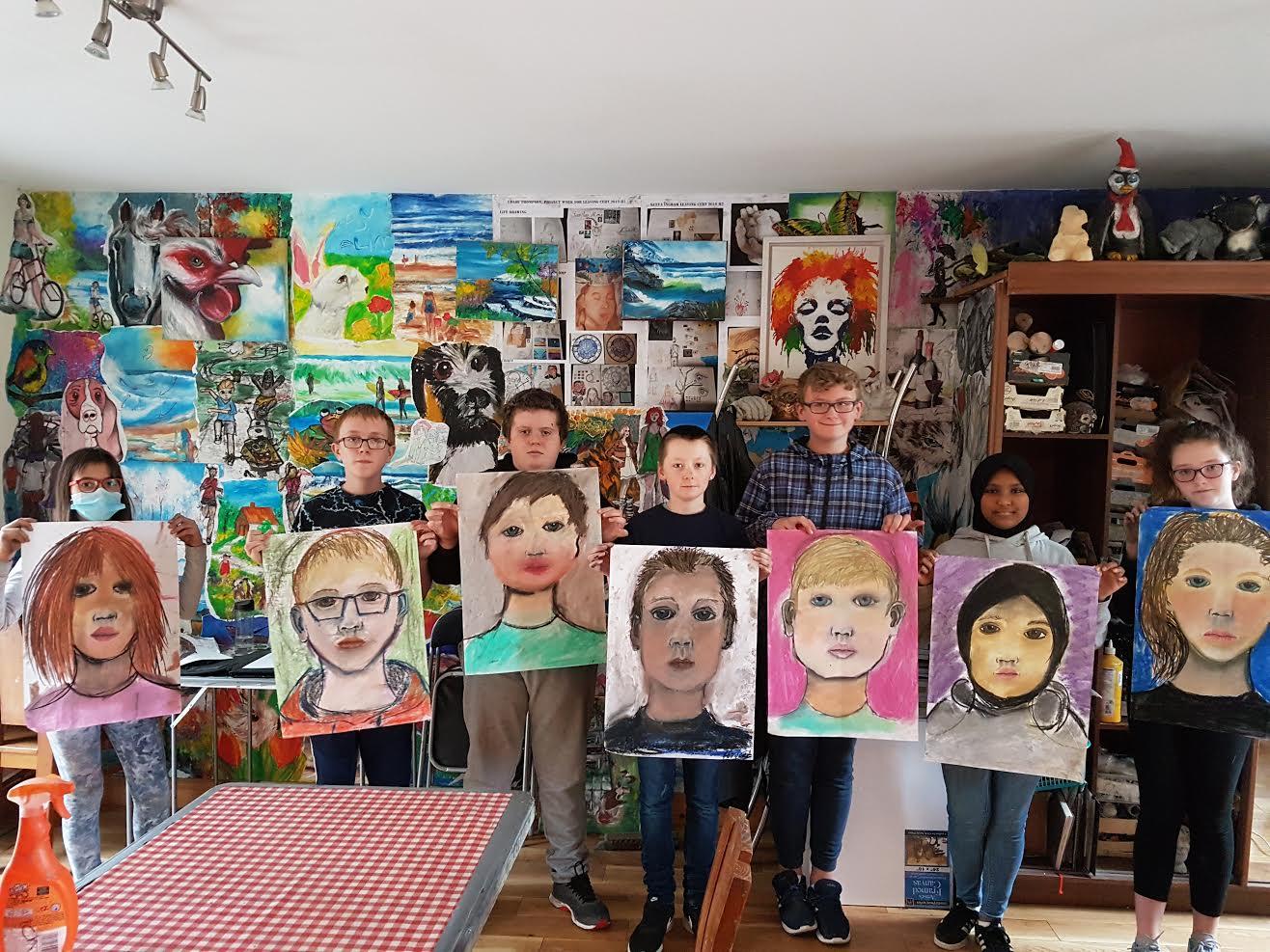 summer 2020 teenagers 001 - Ennis Art School