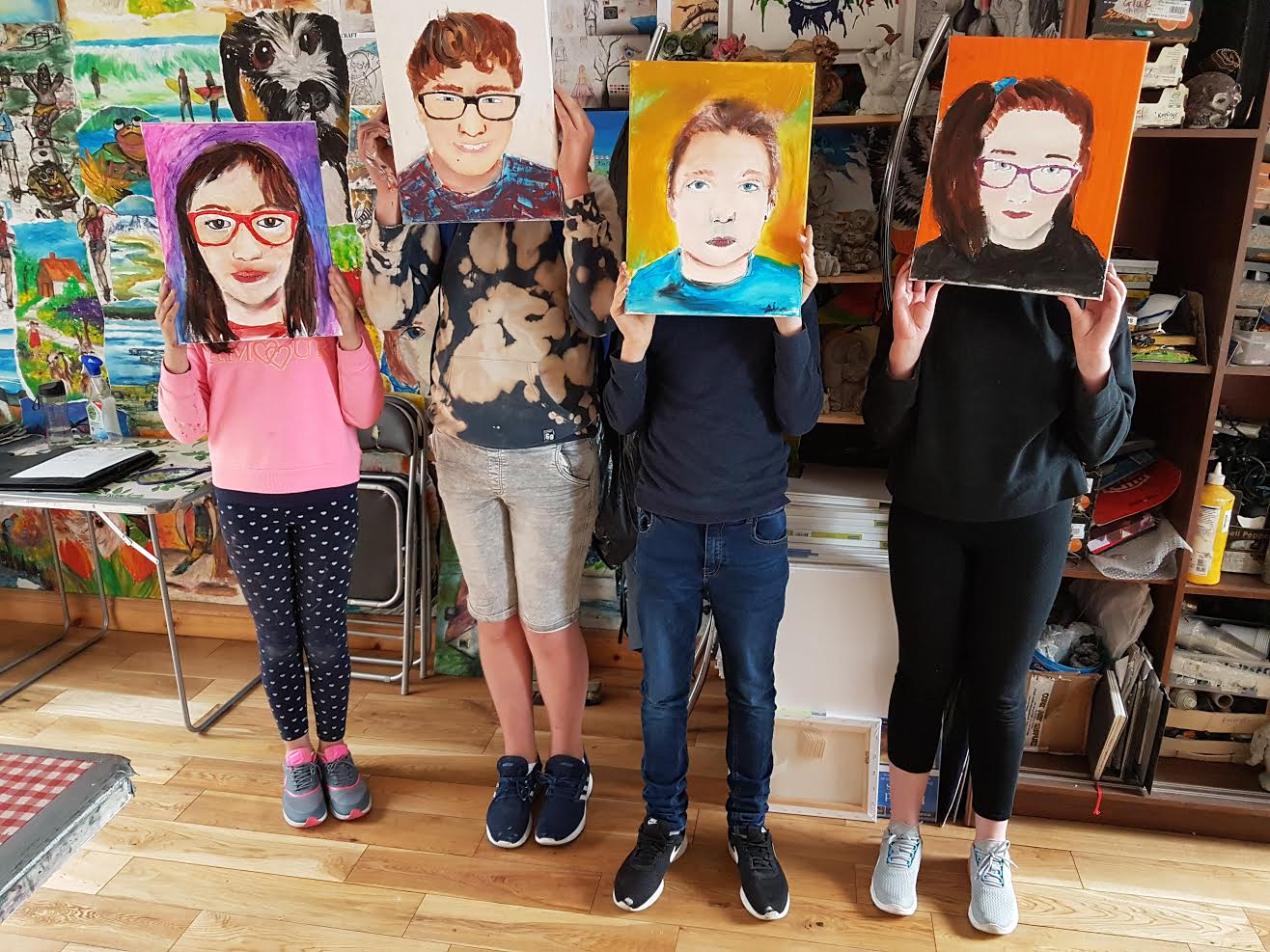 summer 2020 teenagers 002 - Ennis Art School