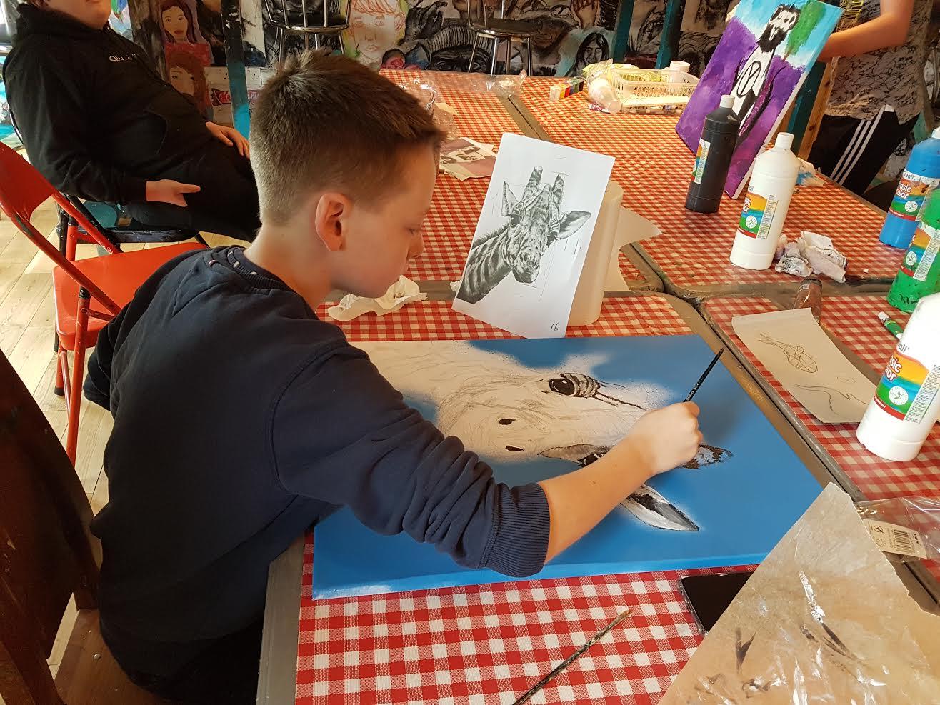 summer 2020 teenagers 004 - Ennis Art School