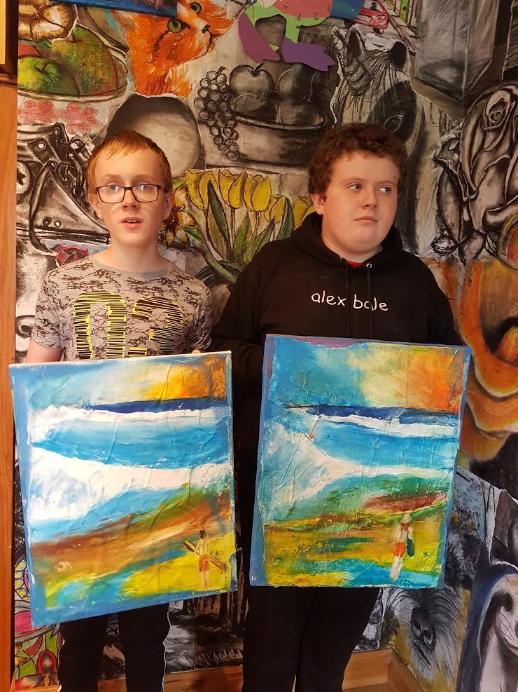 summer 2020 teenagers 009 - Ennis Art School