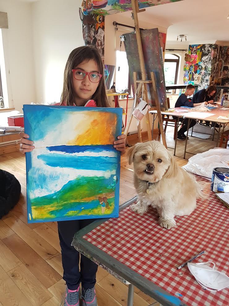 summer 2020 teenagers 010 - Ennis Art School