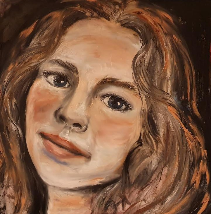 Aoideen - Portrait Painting by Ennis Art School