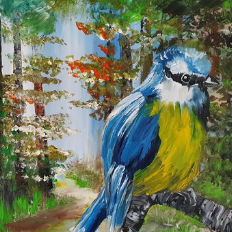Aleyna's Bluebird - Ennis Art School