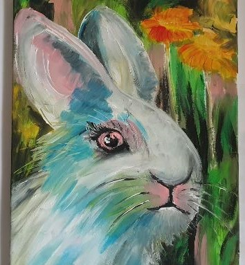The White Rabbit - Online Courses with Ennis Art School