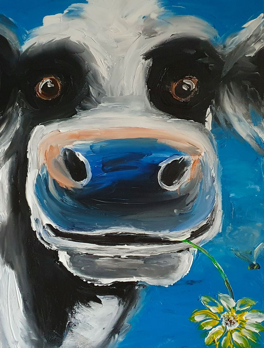 The Blue Cow - Ennis Art School