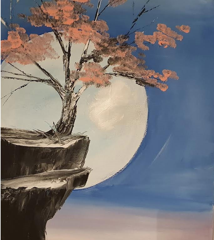 Blue Moon - Ennis Art School