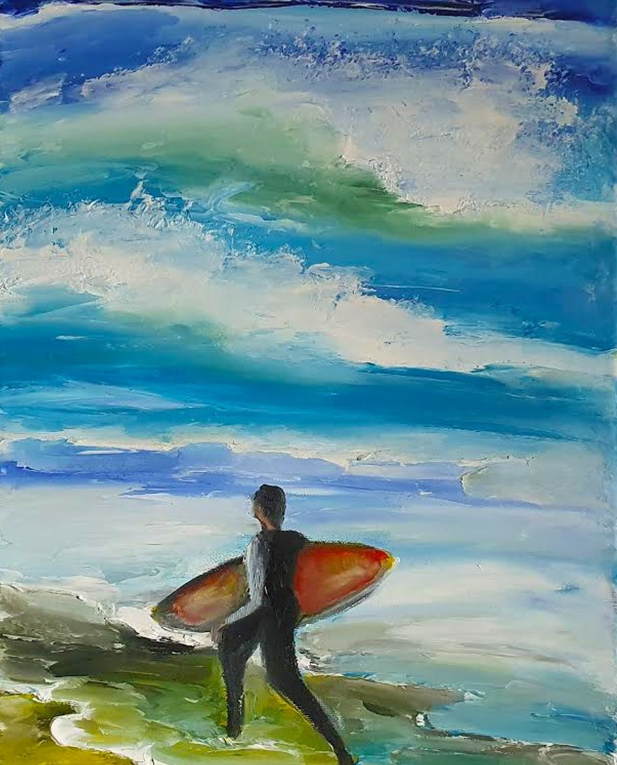 Catch that Wave - Ennis Art School