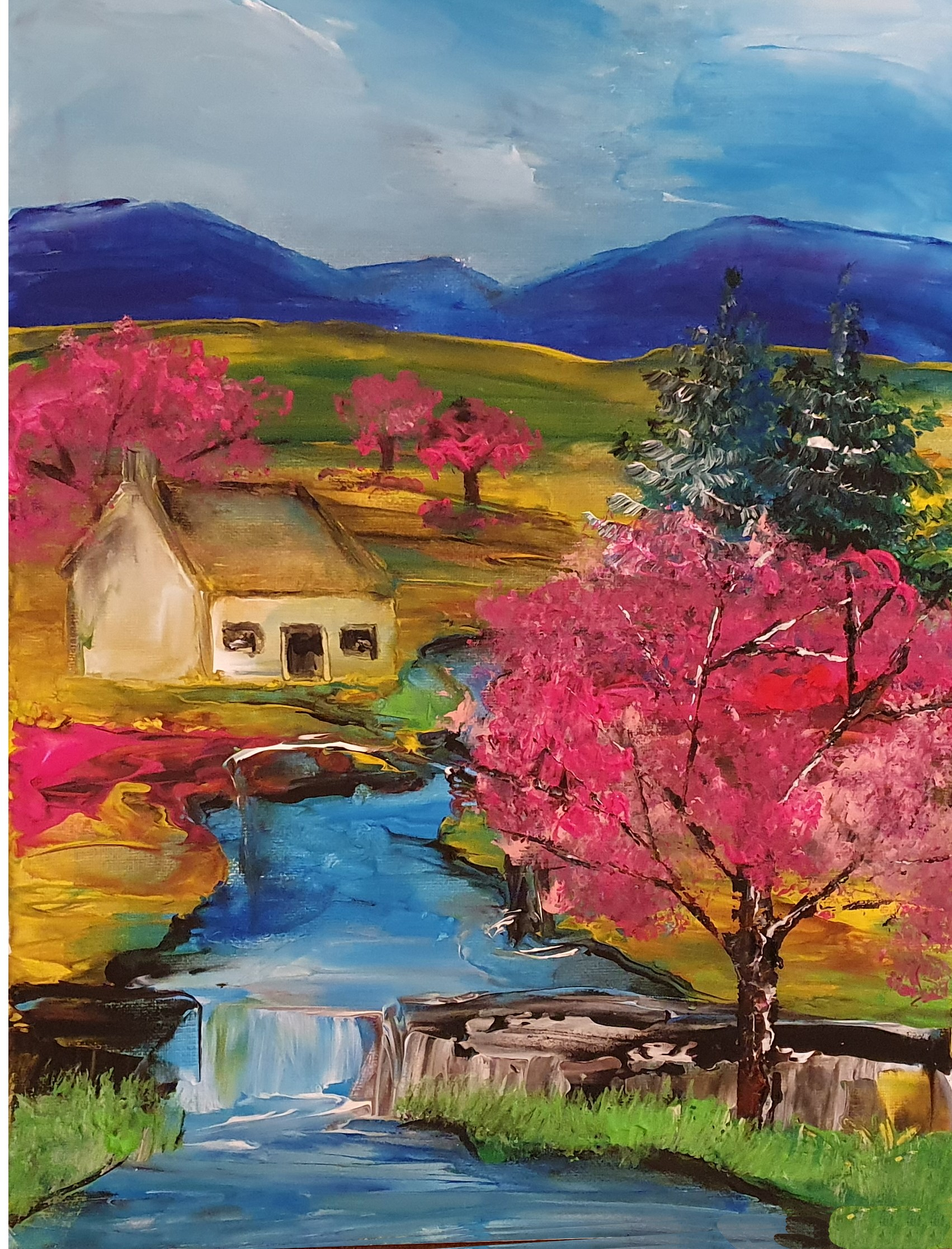 Cherry Blossom - Ennis Art School