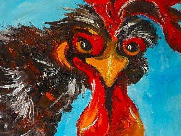 Cocky Locky - Ennis Art School